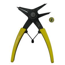 Плоскогубцы KEIBA S-025N для стопорных колец «четыре в одном» 120мм