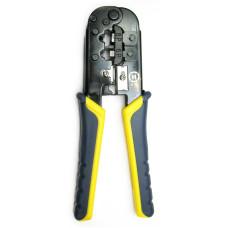 Обжимной инструмент для телефонного и сетевого кабеля.