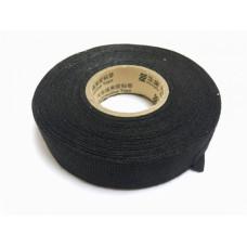 Лента изоляционная высокотемпературная черная текстильная