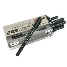 Фломастер для маркировки кабеля Deli-6824-BK