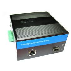 Индустриальный медиаконвертер OPL 1G Ethernet DIN